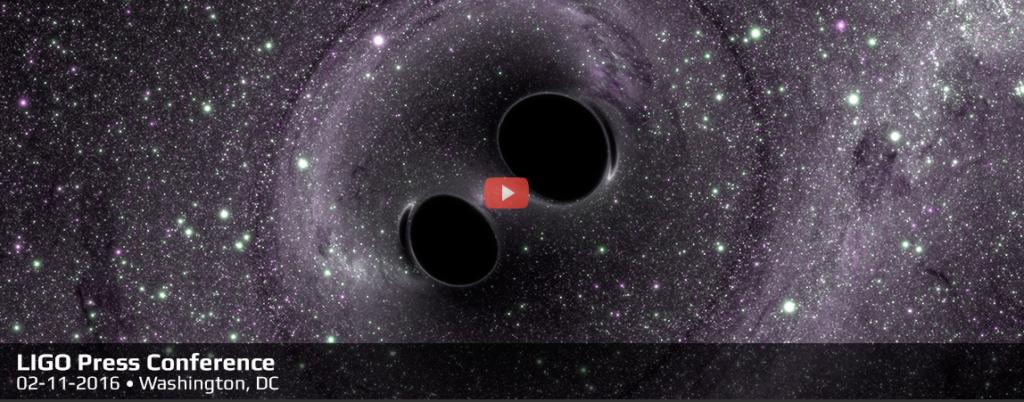NSF LIGO media event